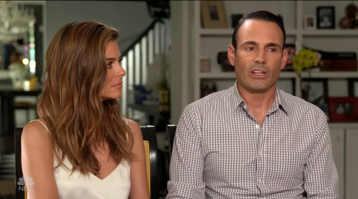 During an appearance on NBC's 'Sunday Night with Megyn Kelly' Maria Menounos and Keven Undergaro opened up about the surgery she underwent to remove a brain tumor, an ordeal that incredibly came in the midst of her own mother's battle with stage 4 brain cancer