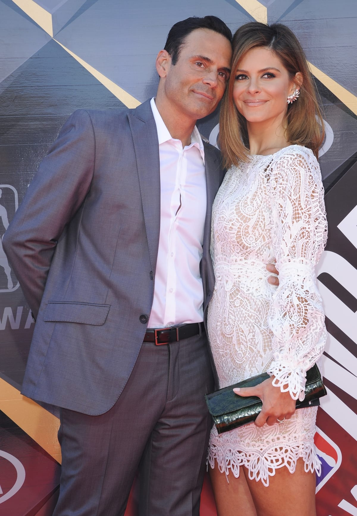 Maria Menounos and Keven Undergaro married on New Year's Eve on December 31, 2017, in the middle of Times Square in New York City