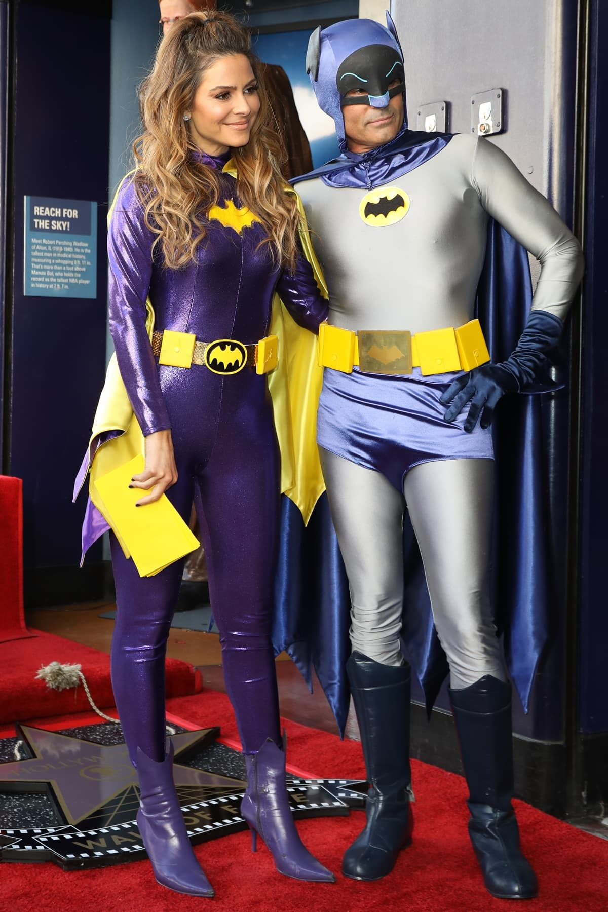 Maria Menounos and husband, Keven Undergaro attend the ceremony honoring Burt Ward with A Star on the Hollywood Walk of Fame