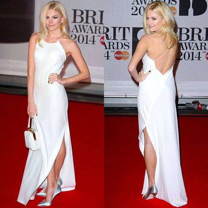Pixie Lott 2014 Master Card Brit Awards