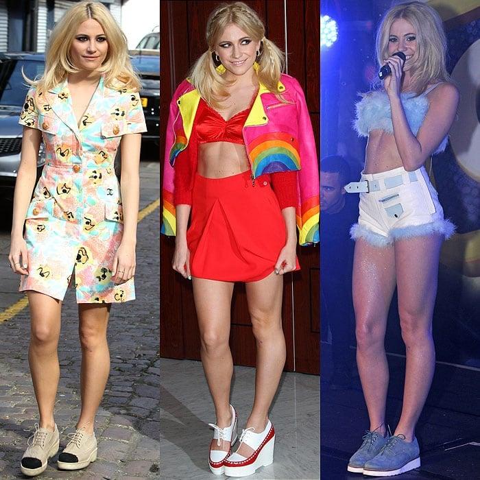 Pixie Lott shoes