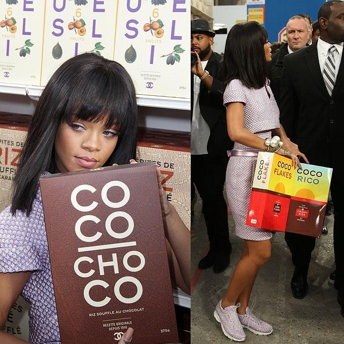 Rihanna Chanel coco