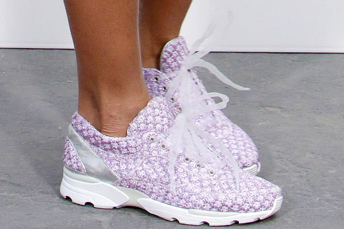 Rihanna Chanel spring 2014 sneakers