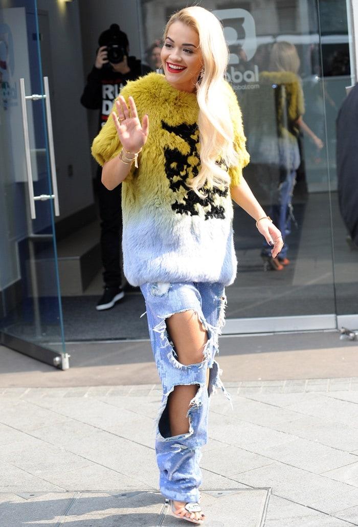 Rita Ora leaves Global Radio