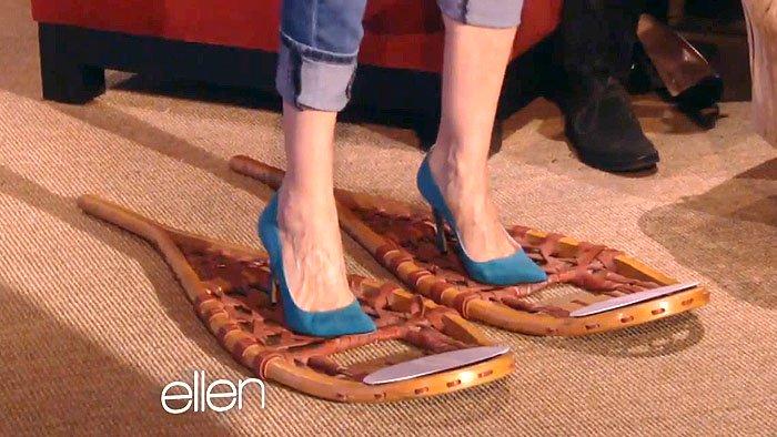 Sarah Jessica Parker SJP snow shoes