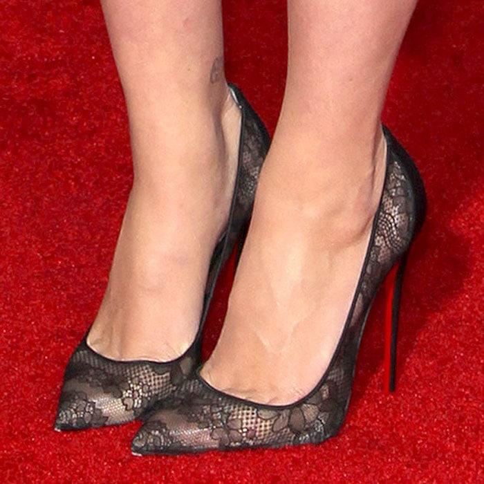 Scarlett Johansson Christian Louboutin Pigalace 1