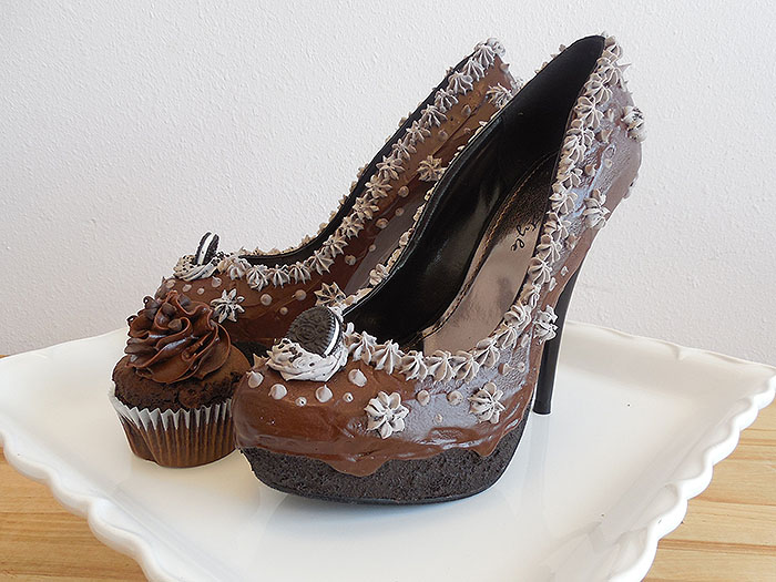 Triple Chocolate Heels