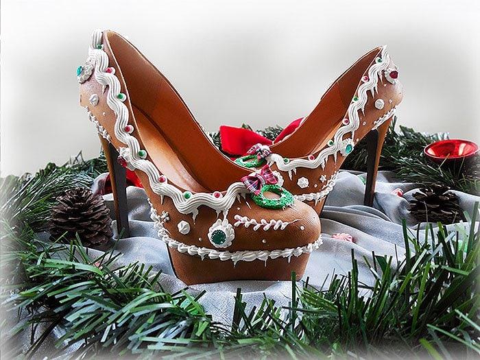 Gingerbread Heels