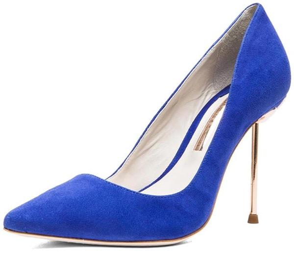 Sophia Webster Coco Pump Blue