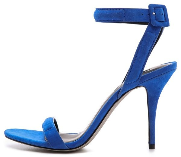 "Alexander Wang ""Antonia"" Ankle-Strap Sandals in Royal"