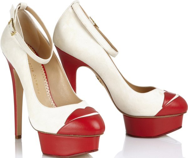 """Charlotte Olympia """"Kiss Me Dolores"""" Pumps"""