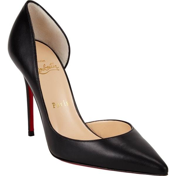 "Christian Louboutin ""Iriza"" D'Orsay Pumps in Black"