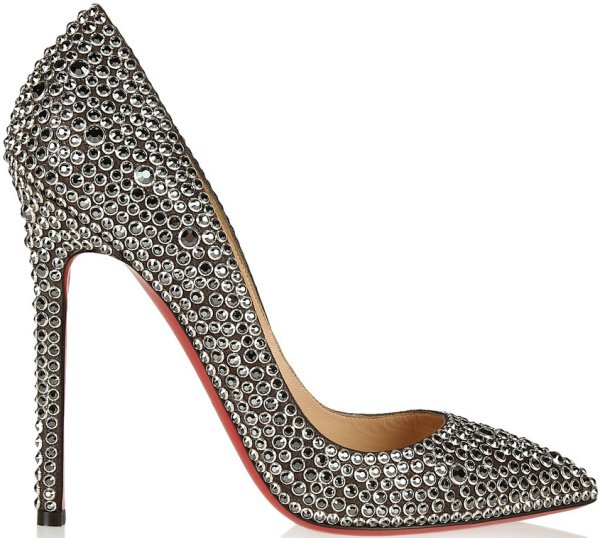 "Christian Louboutin ""Pigalle Strass"" Pumps"