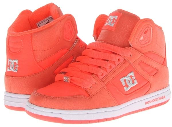 DC Rebound Hi-Top Sneakers