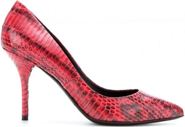 "Dolce & Gabbana ""Bellucci"" Snakeskin Pumps"