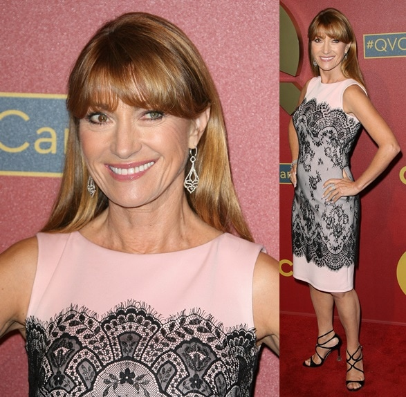Jane Seymour attends the QVC 5th annual red carpet style event
