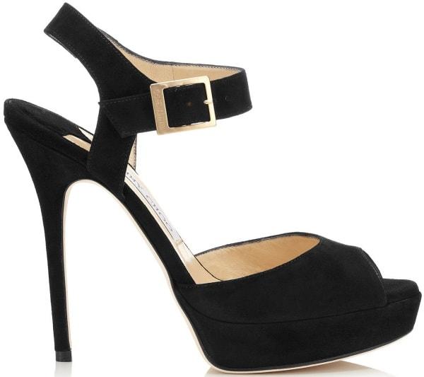 "Jimmy Choo ""Linda"" Sandals in Black"