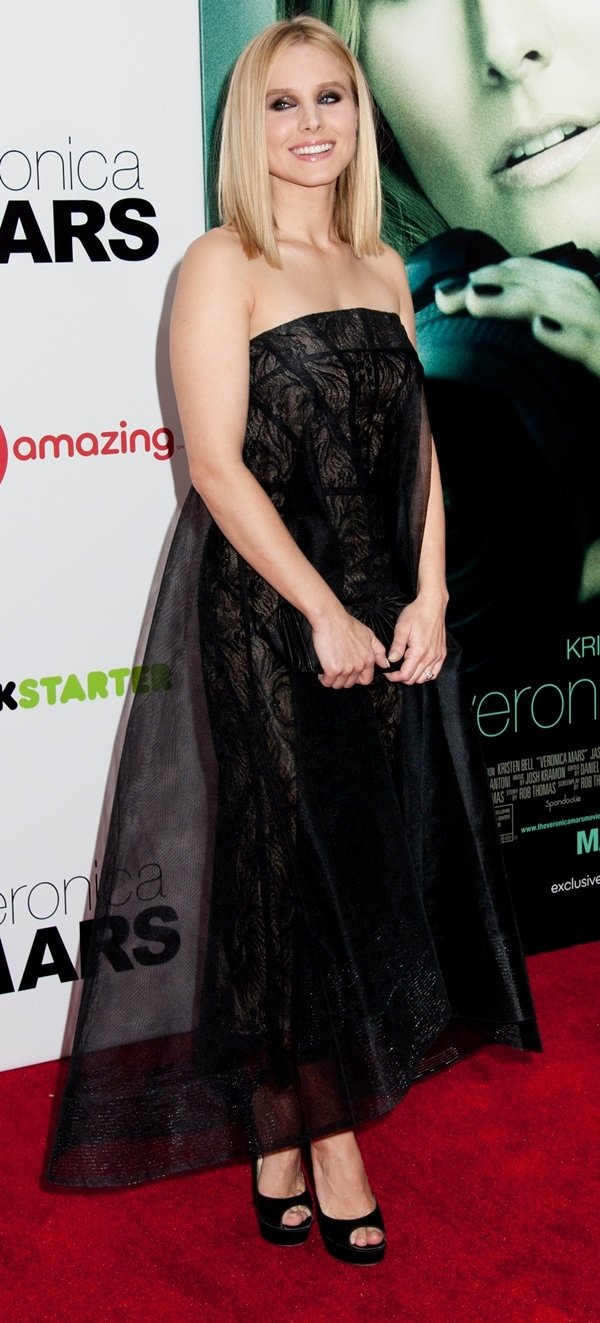 Kristen Bell at a screening of her latest film 'Veronica Mars' at AMC Loews Lincoln Square