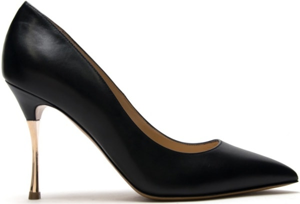 Nicholas Kirkwood Black Stiletto Pumps