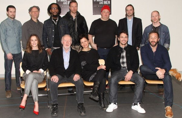 "Photo Call for Broadway's ""Of Mice and Men"""