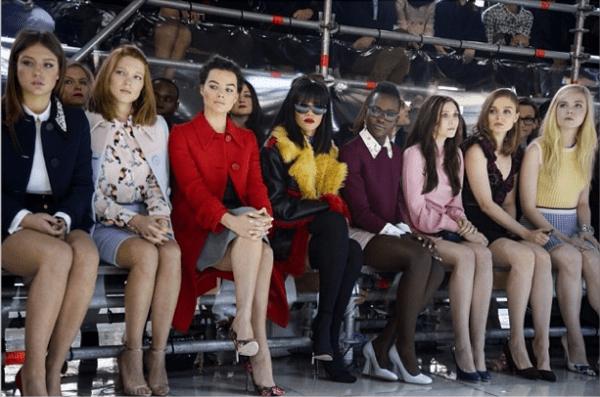 Paris Fashion Week Miu Miu Fall/Winter 2014 Front Row