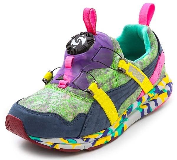 Puma x Solange Girls of Blaze Disc Rainforest Sneakers