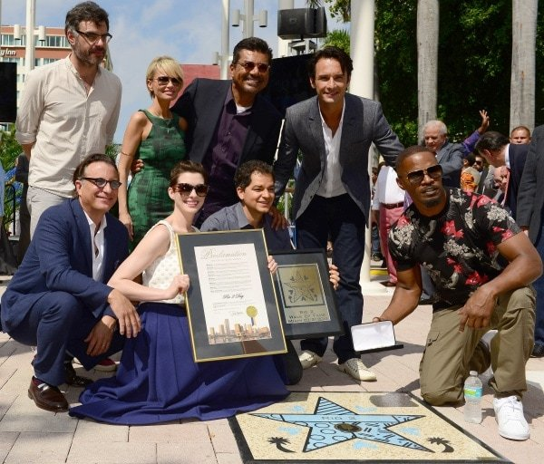 The inauguration of Miami's first-ever Walk of Fame