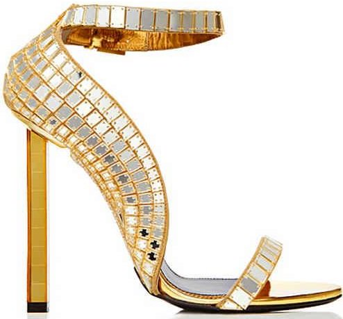 Tom Ford Ankle-Strap Sandals from the Spring 2014 Collection
