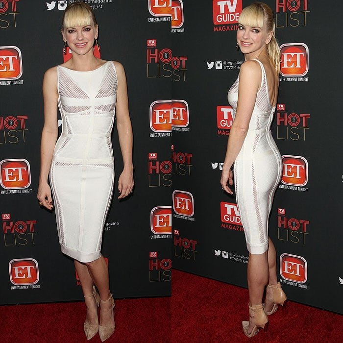 Anna Faris at TV Guide Magazine's Hot List Party held at The Emerson Theatre in Hollywood, Los Angeles, California, on November 4, 2013