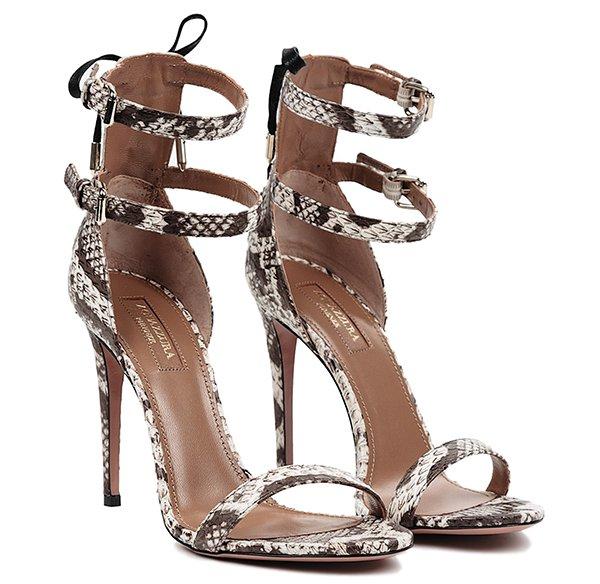 Aquazzura Saharienne Sandals