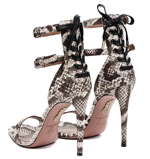 Aquazzura Saharienne Sandals2