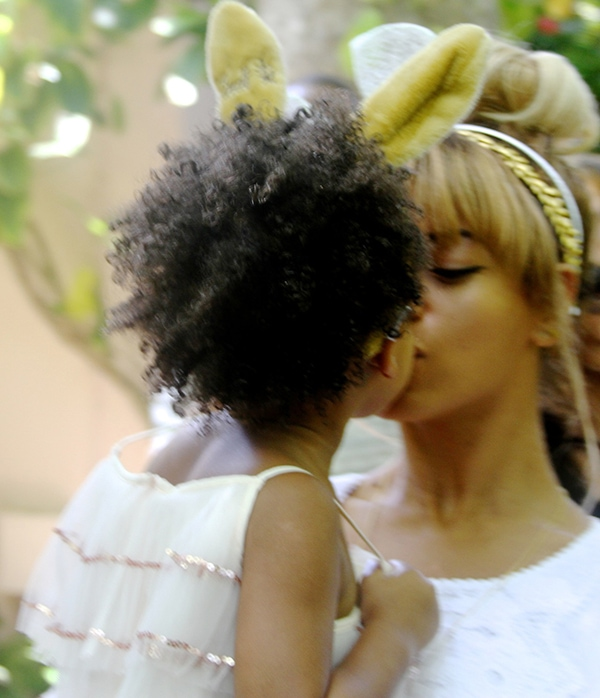 Beyonce enjoyed spending quality time with her daughter, Blue Ivy