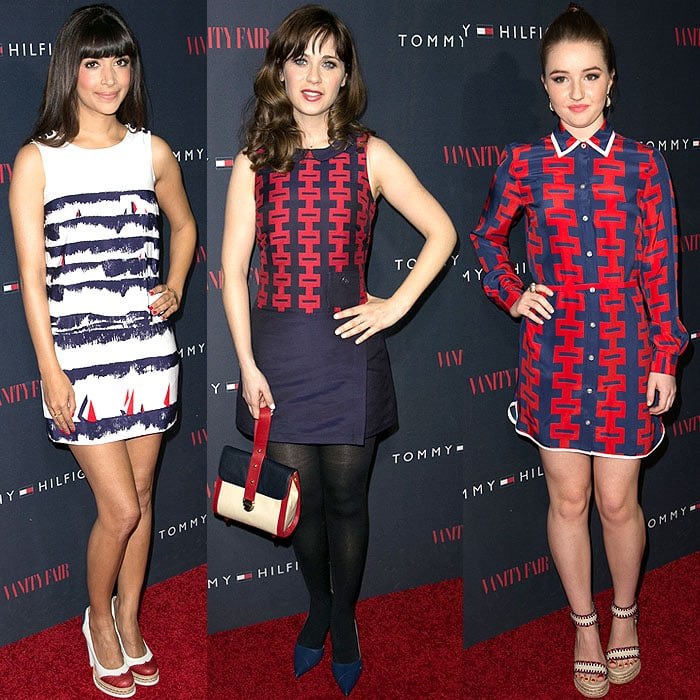 Celebrities in To Tommy From Zooey dresses