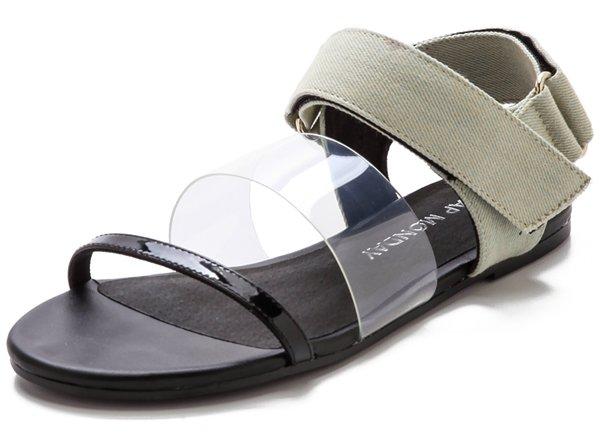 Cheap Monday Saviour Flat Sandals