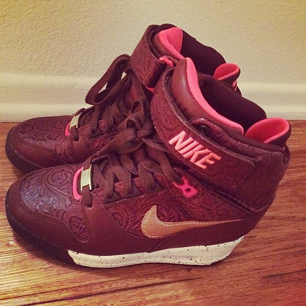 "Nike ""Air Revolution Sky Hi"" sneaker wedges"