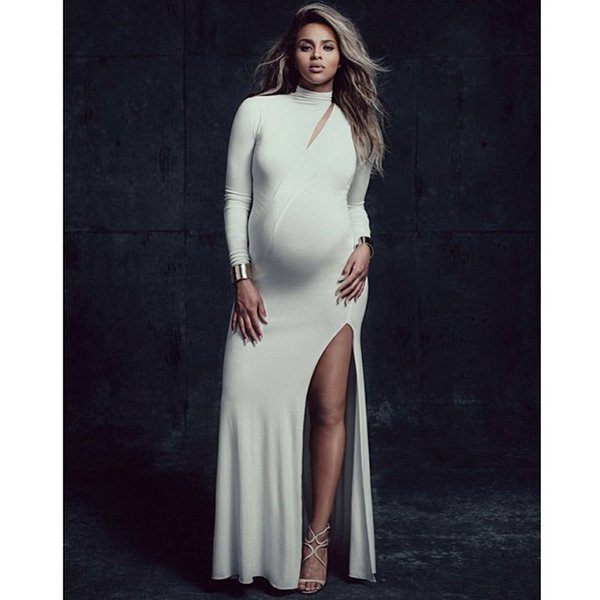 Pregnant Ciara in a stunning maternity spread for W magazine's latest issue