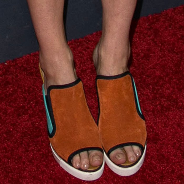 Emma Greenwell Tommy Hilfiger wedges