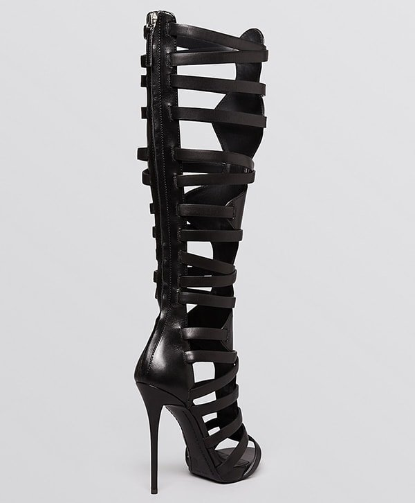 Giuseppe Zanotti Coline Knee High Gladiator Sandals