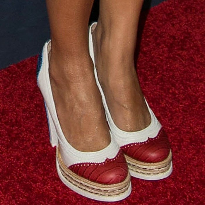 322016011f65 The Best Shoes at Zooey Deschanel s Tommy Hilfiger Launch