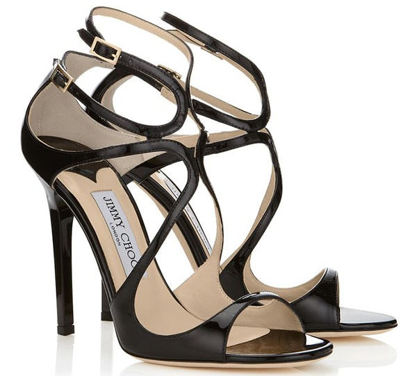 Jimmy Choo Lance Sandals Black