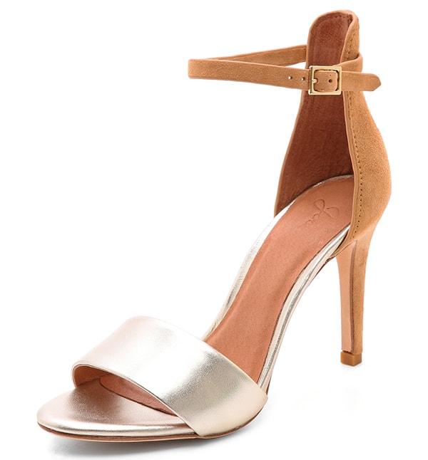 Joie Jaclyn Sandals Nude-Platinum