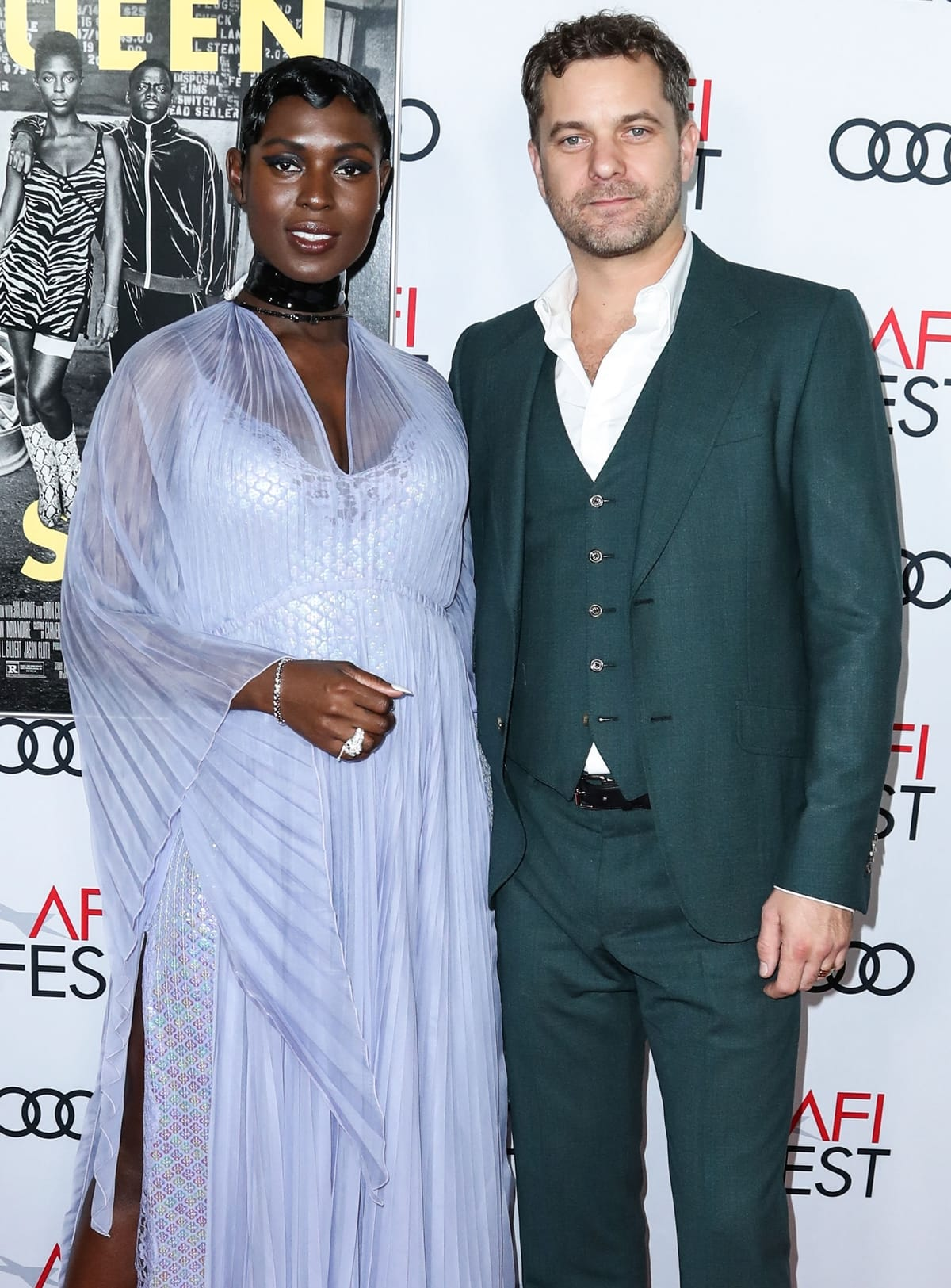 Jodie Turner-Smith and Joshua Jackson met at Usher's 40th birthday party