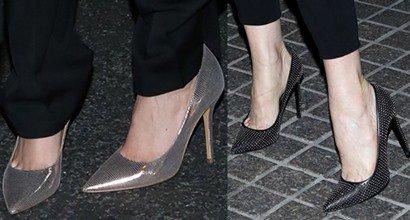 "2da995c025da 3 Blonde ""The Other Woman"" Stars Promote Film in Unique Shoes. Cameron  Diaz"