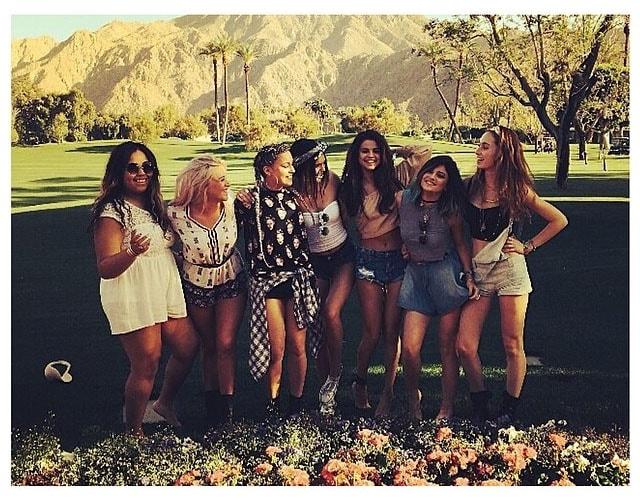 Kendall Kylie Jenner Selena Gomez Coachella