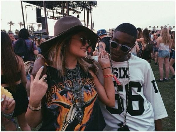"""Kylie Jenner's Instagram snap captioned """"Ellie w lover"""""""