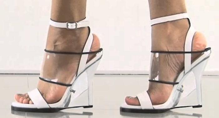 L.A.M.B. Fiby Wedge Sandals