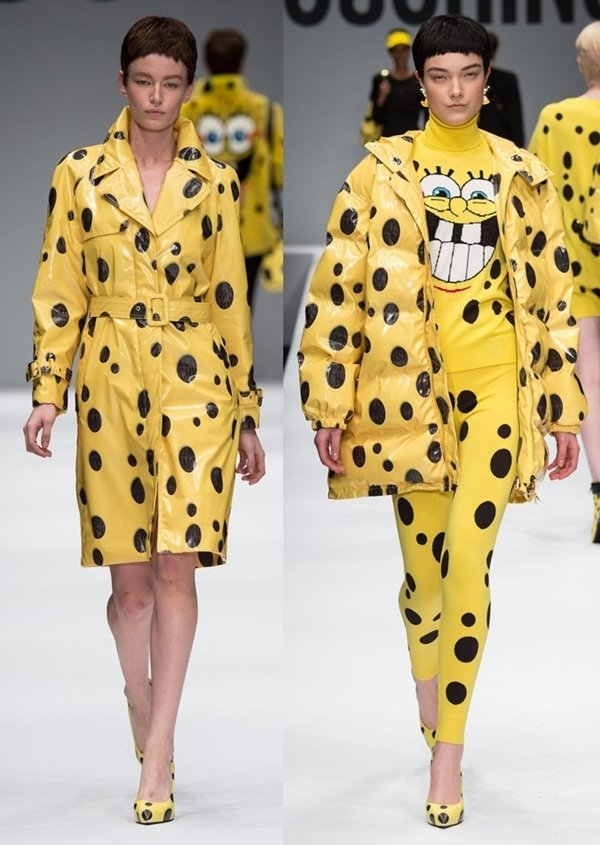 Moschino Spongebob Collection