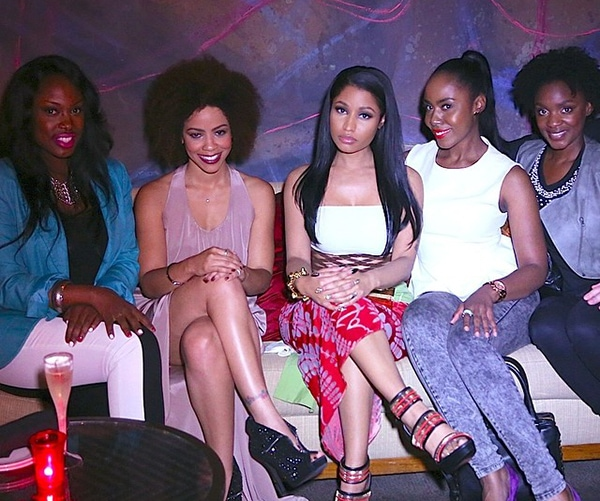 Nicki Minaj at The Other Woman premiere after-party held at The W Hotel in Los Angeles on April 21, 2014