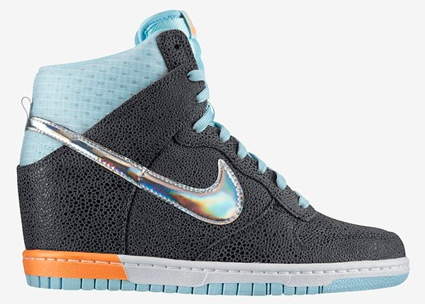 """Nike """"Dunk Sky Hi Premium"""" Wedge Sneakers"""