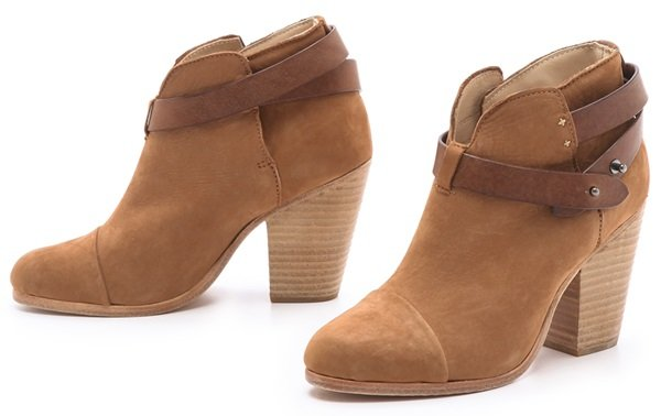 Rag & Bone Brown Harrow Booties